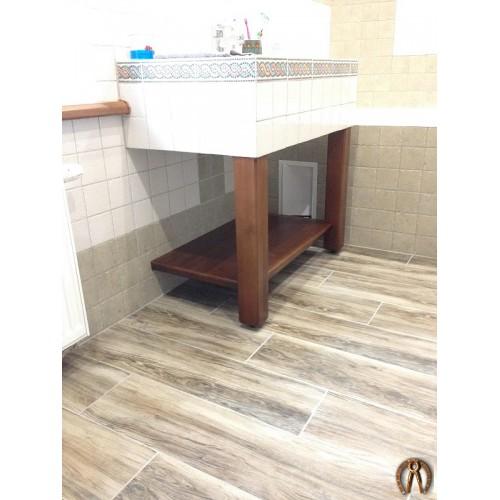 Декор по раковину в ванную комнату