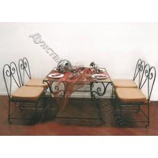 Кованая мебель 46
