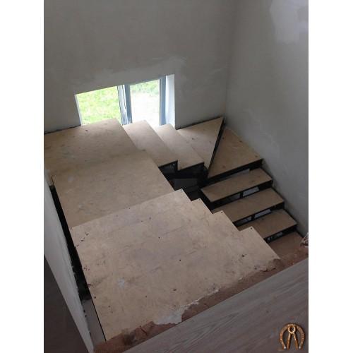 Металлокаркас лестницы - 3