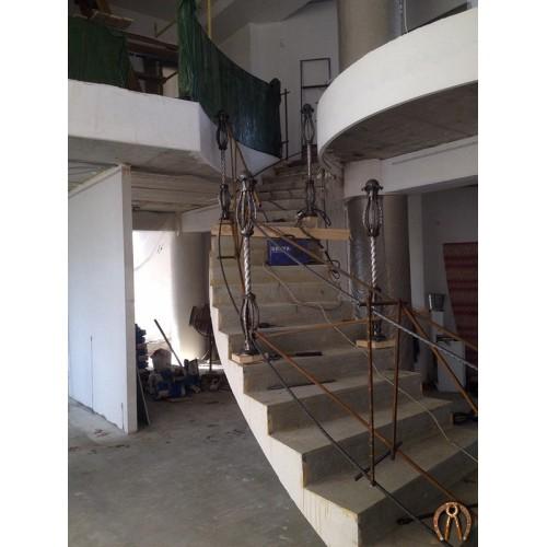 Монолитная лестница Кунгур 2