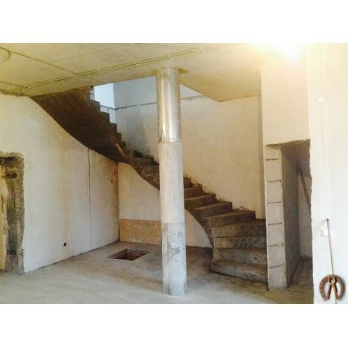 Монолитная лестница 12