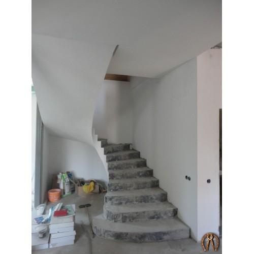 Монолитная лестница 6
