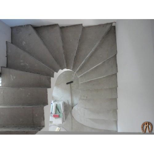 Монолитная лестница 5