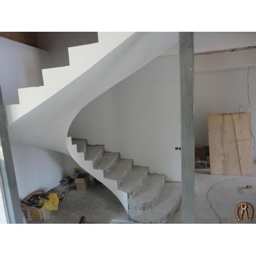 Монолитная лестница 4