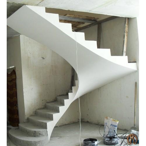 Монолитная лестница 2