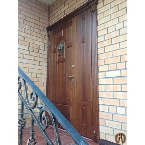 Дверь из металла с накладкой (1)