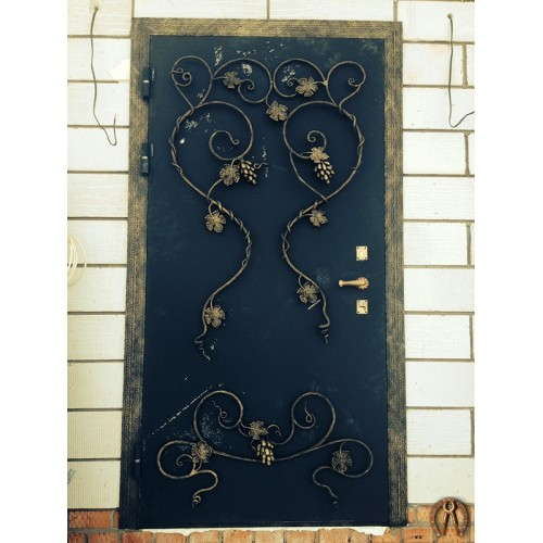 Дверь виноградная лоза вид 1