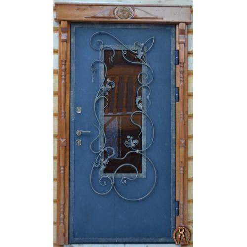 Стальные двери со стеклопакетом Пермь