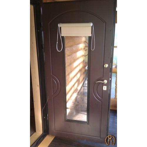 Двери с внутренней отделкой