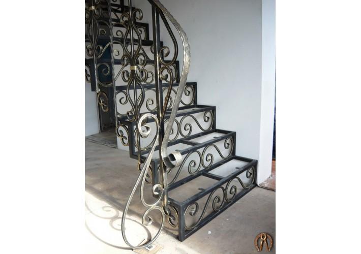 Кованая лестница. Налимиха