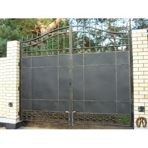 Кованые ворота под заказ. Курья