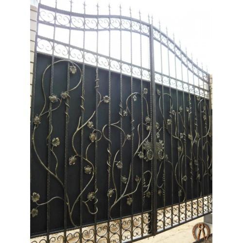 Кованые ворота. Пермь